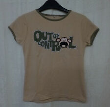 New Look Girls' Short Sleeve Sleeve 100% Cotton T-Shirts, Top & Shirts (2-16 Years)