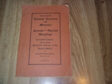 17th Annual Sessions - Minutes Of Meetings Eastern Synod Reformed Chuch 1901