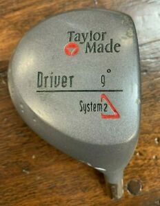 VINTAGE TaylorMade System2 Driver 9* - Head Only.
