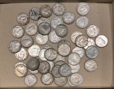 Lot of 50 x Canada 1948 Ten Cents Coins - Better Date