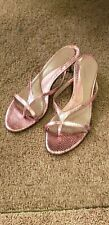 Kenneth Cole Pink Leather Slides