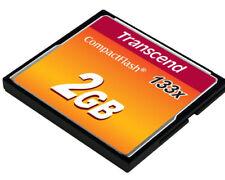 Transcend 2 GB 133x - CompactFlash I Card - (TS2GCF133)