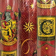 1 Roll Red Harry Potter Gryffindor Birthday Gift Wrapping Paper 22.5 sq ft