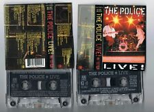 THE POLICE LIVE! 2 CASSETTE IN FAT BOX EX CON NETHERLANDS 1995 A&M - STING AUDIO