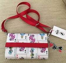 NWT HARVEYS DISNEY ALICE IN WONDERLAND QUEEN OF HEARTS CROSSBODY WALLET SOLD OUT