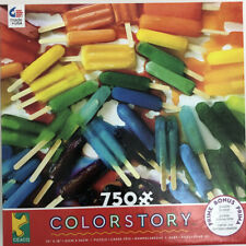 CEACO COLORSTORY JIGSAW PUZZLE POPSICLES BRITTANY WRIGHT 750 PCS #2939-3