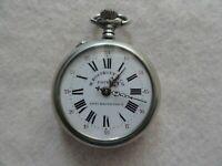Vintage W. Rosskopf & Co. Mechanical Wind Up Pocket Watch