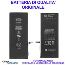 Batteria Litio ricambio Apple iPhone 5s A1457 A1453 A1518 APN 616-0730 616-0719