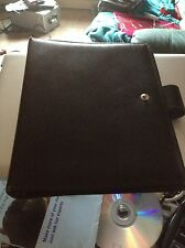 A TIME OXFORD LEATHER ORGANISER - A5 SIZE - VERY RARE - TIME SYSTEM