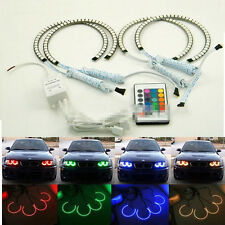4pcs RGB Multi-Color LED Angel Eyes Halo Rings For Volkswagen PASSAT