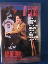 "Roy Firestone Autographed Book ""Up Close"" w/Coa"