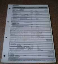 Inspektionsblatt Honda Accord 1.8 i/i LS ab 1996!