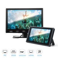TOGUARD 7 Zoll Full HD Monitore Video Audio VGA/AV/HDMI Eingang Display Monitor