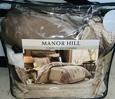 Manor Hill Lark Bed Ensemble - Oversized - Decorator Fabrics (Queen)