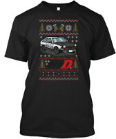 Initial D Ugly Sweater - Hanes Tagless Tee T-Shirt