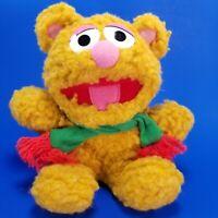 "Vtg 1987 Muppets BABY FOZZIE BEAR 7"" Stuffed Plush Doll Toy Henson Associates"