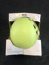 New Open Box - Petzl Elia Climbing Helmet - Light Yellow green - One Size