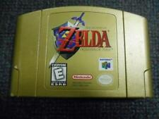 Legend of Zelda: Ocarina of Time (Nintendo 64, 1998) *Used - Gold Cartridge*