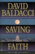 SAVING FAITH, DAVID BALDACCI, PAPER BACK, 1999
