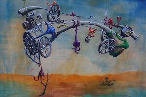 Surrealismus Ölgemälde