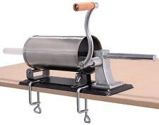Sausage Stuffer Maker Meat Filler Press Machine Stainless Steel Commercial 4.8L