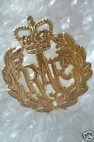 Staybrite Royal Air Force Cap Badge, RAF Badge maker FIRMIN (A/A)