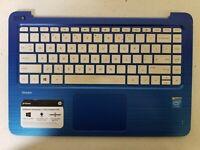 """Genuine HP Stream 13-C114NR 13.3"""" Top Case Palmrest w/Keyboard EAY0B003060 GRD A"""