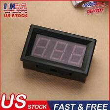 056 In Mini Dc 0 100v 3 Wire Voltmeter Led Display Digital Panel Meter 1