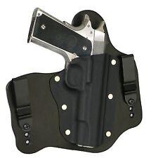 "FoxX Leather & Kydex IWB Hybrid Holster Colt 1911 5"" Government -No rail Black"