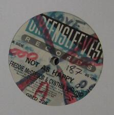 """Freddie McGregor(12""""Vinyl)Not As Happy-UK-GRED 226-Greensleeves-"""