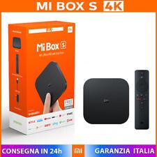 Xiaomi MI BOX S 4K Ultra HD + HDR Android 9.0 Quad-Core Chromecast smart tv box
