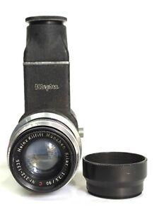 Heinz Kilfitt Munchen Kilar 90mm F3.5 C Lens Adapter & Kilfitt Visoflex LTM L39