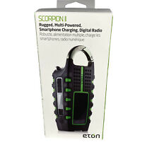 Eton Rugged Multipowered Portable Emergency Weather Radio & Flashlight
