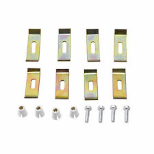 ENKI Stainless Steel Undermount Kitchen Sink Fixing Clips Brackets Clamps 8 Pack