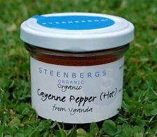 Cayenne Steenbergs Organic Spices & Seasonings
