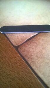black nail file