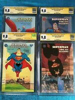 Superman For All Seasons 1-4 set - DC - CGC SS 9.8 - Signed by Tim Sale