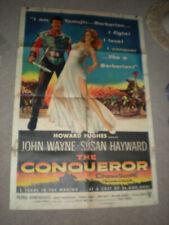 JOHN WAYNE THE CONQUEROR SUSAN HAYWARD 1SHT