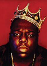 Notorious Big Biggie Smalls Poster Grand format A1 Arty effet Classique Hip hop legend