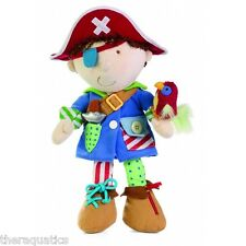 """Learn to Dress Up Pirate Special Needs 15"""" Kids Toddlers Dressing Skills 5DRUP"""