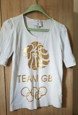 Stella mccartney adidas London Olympics Team GB  T Shirt UK 10