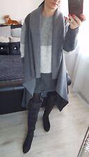 NEW Fashion Women's Ladies Girls VEST Jumper Cardigan Jacket grey