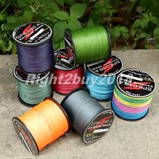 8 Strands Super Strong Dyneema Spectra Braided Fishing Line Multi-Color hot sale