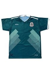 Mexico National Team Soccer Jersey Green Men's Medium selección Verde Fútbol