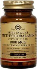 Methylcobalamin (Vitamin B12) 1000 mcg Solgar 60 Nugget