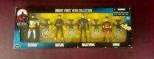 Batman The Animated Series TNA Night Force Hero Collection 4 Figure Set Hasbro