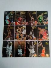 1996 Topps NBA Stars Finest Inserts 12 Card Lot Very Nice see pics