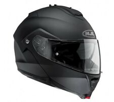 HJC Is-max II Motorrad Klapphelm RUBBERTON Black L