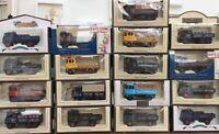 17 LLEDO DG LP 81 88 97 99 101 102 diecast models Tetley Ales Tarmac Whitbread