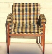 Walnut Original Mid-Century Modern Antique Chairs